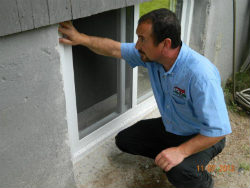 basement windows exterior. Wonderful Windows Surface Water Control And Landscaping Throughout Basement Windows Exterior D