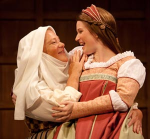 juliet and the nurse The nurse is a major character in william shakespeare's classic drama romeo and julietshe is the personal servant, guardian (and former wet nurse) of juliet capulet, and has been since.